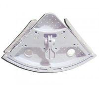 Настенные ванной угловой полка многофункциональных SnapUp полка пластиковой для ванной стойки кухни аксессуаров для ванной комнаты VVA331
