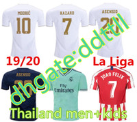 S- 4XL 2019 Real Madrid HAZARD Barcelona Messi GRIEZMANN M. SA...