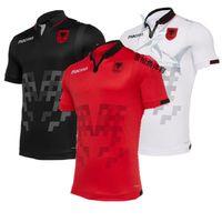 5f593acbe3b New Arrival. 2019 Albania Home Red Soccer Jersey 19 20 Albania Away White  Soccer Shirts Third away Black Short sleeve national team football uniform