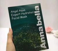 DHL livre Tailândia Annabella Máscara Facial Anjo Aqua Expert Máscara Facial Hidratada Algas Essência 10 pçs / lote
