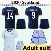 2020 Scozia National Team McGregor Griffiths Robertson Mens Pantaloni da calcio Pantaloni Shankland Findlay Home Away Adulto Suit Shirt da calcio