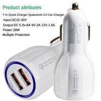 QC3.0 Schnellladung 3.1A Quick Charge Auto-Ladegerät Doppel-USB-Schnelllade Telefon für Handy