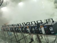 1000w Mist Foschia macchina DMX Wireless Fog Machine Foschia Nebbia Maker verticale macchina del fumo per DJ Club Bar