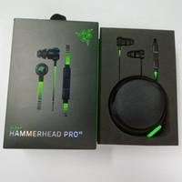Yeni Yayımlanan Razer Hammerhead Pro V2 Kulaklık Kulak Kulaklık Mikrofon Oyun Kulaklıklar Ile Gürültü İzolasyonu Stereo Bas