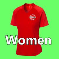 19 20 Канада Женщины Футбол Джерси 2019 2020 Канада Национальная команда Футбол Футболка CamiSeta de Fútbol Camisa Futebol Maillot de op