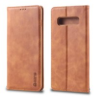 For Samsung Galaxy A10 A20 A30 A40 A50 A60 A70 M10 M20 M30 S10 S9 S8 plus Pu Leather Flip Wallet Card slot Case
