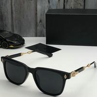 Sommer Stil Italien Marke Meduse Sonnenbrille Quadrat Frauen Männer Markendesigner UVschutzsun Gläser klare Linse und Beschichtung Objektiv Sunwear