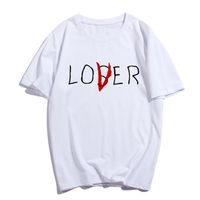 Pkorli Pennywise Film It Losers Club uomini della maglietta casuale delle donne Loser manica corta in cotone Lover E T-shirt ispirata supera la vendita calda