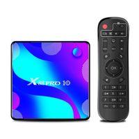 X88 برو 10 Android10 TV Box RK3318 رباعية النواة 2GB 16GB 2.4G 5G WIFI BT4 تعيين أعلى مشغل الوسائط
