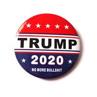 7 스타일 금속 트럼프 배지 2020 에나멜 핀 아메리카 대통령 캠페인 정치 브로치 코트 쥬얼리 브로치 파티 호의 VT1158