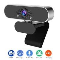 C03 Mini HD 1080P Webcam компьютерная ПК камера с микрофонными камерами для живой вещательной видеозвольщики