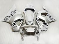 7Gifts carenagem kit para Honda CBR900RR 2002 2003 prata carenagens branco conjunto CBR 954RR 02 23 CX24