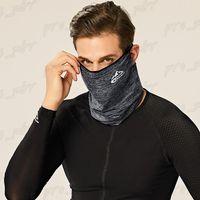 EEUU Stock DHL de la nave, de seda del hielo de protección solar máscara máscaras Magic Summer ciclismo multifuncional deportes al aire libre a prueba de polvo a prueba de viento bufanda principal sudor