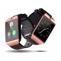 DZ09 smartwatch android relógios inteligentes GT08 U8 A1 samsung SIM Watch inteligente telefone celular pode gravar o sono estado relógio inteligente
