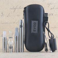Kit di penna magica 3 in 1 cera Herb Dry Herb fa Vaporizzatore E Sigarette con MT3 Glass Globle Atomizzatore Atomizzatore EVOD Batteria 650 900 1100 MAH Starter Kit