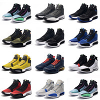 Top Qualität Jumpman XXXIV 34 Blau Void Basketball-Schuhe 34s Zoom Eclipse-Bred Red Orbit Green Glow Metallic Silver Herren Turnschuhe