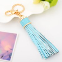 2019 Trendy Romantic Tassel Keychain Leather for Bag Accesso...