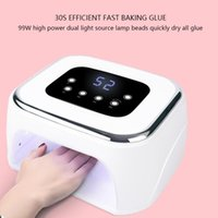99W Nail Dryer UV LED Lamp Nails 42 Leds Gel Nail Polish Pho...
