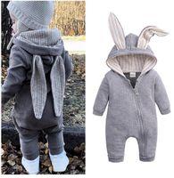 طفل مصمم الملابس الرضع الملابس ملابس الخريف الربيع السروال القصير الطفل الأرنب بنات بنين وبذلة الاطفال ملابس الزي المولود الجديد الملابس