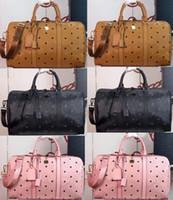 45 cm bolso diseñadores bolso de viaje hombres mujeres bolsa de lona bolsa de equipaje bolsos de gran capacidad bolsa de deporte famosos diseñadores bolsas