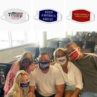 adult kids trump face mask dustproof washable reusable keep america great masks USA flag trump 2020 cotton face mask ZZA2440