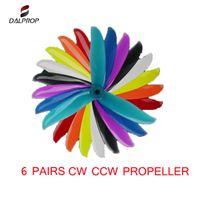 6 пар DALPROP ЦИКЛОН T5047C 5 * 5047 * 4,7 3 3-лопастной пропеллер POPO CW CCW для RC Drone FPV гонки RC моделей DIY аксессуаров