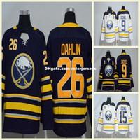 New Arrival. 2018 Buffalo Sabres 26 Rasmus Dahlin 15 9 Jack Eichel Rasmus  Ristolainen Sam Reinhart Ryan O Reilly Winter Classic Hockey Jerseys Blue f15cc538d