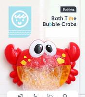 Coreia explosão crianças brinquedo máquina de bolha caranguejo caranguejo música elétrica banhar-se parceiro cuspir bolha vibrando brinquedos criativos