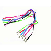 7 Colors 120cm*1. 5cm Nylon Pet Dog Leash Harness Dog Collar ...