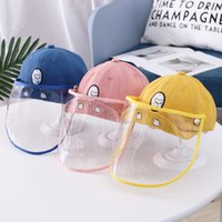 Designer Baby Boys Girls Caps Sun Protection Detachable Cart...