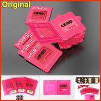 RSIM 15 RSIM15 Schalte Karte für IOS 13 RSIM15 Dual CPU Aegis Wolke Upgrade-Karte universal Entriegelung für iphone11 8 7 6 8P xs max xr entsperrt