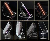 E-Zigarette vape Halter steht Ecig Display Showcase Box Mod Fällen Vape Kits Regal Racks Ego One Aio IPV 5 ISTICK 100W