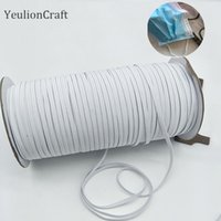 YeulionCraft 3x0. 5mm Elastic Mask Band Rope Mask Rubber Band...