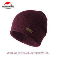 Naturehike Winter Hiking Hat Breathable Knitted Wool Hat Win...