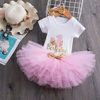 1 Year Baby Girl Birthday Dress Tutu New Year Party Clothes ...