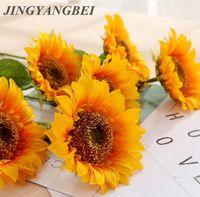 45cm Single Sunflower Chrysanthemum Artificial Flower wedding silk flowers centerpieces fake table flower home decoration