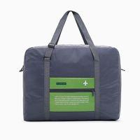 Большая емкость Складной Полиэстер Камера Сумка водонепроницаемая сумка для хранения одежды Унисекс путешествия сумки багажа Упаковка Организатор VT1597
