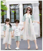 2019 Nuovo arrivo Famiglia Abbigliamento Abbigliamento Estate Abito da estate confortevole