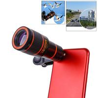 Zoom óptico 8x Telescopio de telescopio Telescopio HD Telescopio Lente de cámara con clip para ISO X 8 7 Samsung S8 S9 Xiaomi Universal