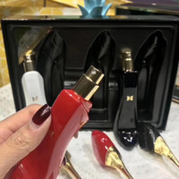 أعلى جودة ! 1SET الإبداعية الأحمر الكعوب العالية ماء العطر مل 3pcs 25ML إمرأة عطر الكعوب العالية RED جديد فتاة جميلة عطور جديدة