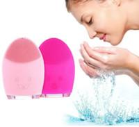 Lozione detergente per il viso in silicone Spazzola per il lavaggio dei pori del viso Spazzola per la pulizia del viso Spazzola per la pulizia del viso
