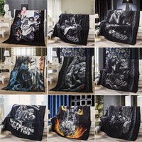 Blankets for Beds Cartoon Animal Blankets for Baby 3D Wolf a...