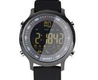 Bracelet sport intelligent en plein air sport étape podomètre montre Bluetooth 50 mètres étanche 1.2 pouces écran LCD FSTN Smart Wat numérique