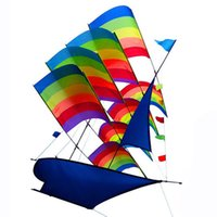 3D Sailboat Kite for Kids adults Sailing Boat Flying Kite wi...