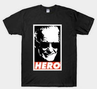 STAN LEE OUR HERO SUPERHERO RIP T- Shirt Size S to 3XL