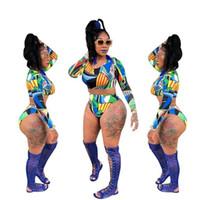 Mode Géométrique D'été D'été Femmes Bikini Set Bodys Dames Deux Pièce Survêtement Mignon Creux 2 Pièce De Plage Maillot De Bain