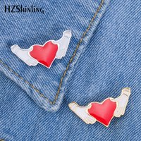 2019 New Hands and Heart Enamel Pin Badge Hold My Love Brooc...
