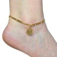 A-Z Buchstaben Fußketten für Frauen Mädchen Legierung Fußkette 21 cm + 10 cm Extender Goldkette 26 Alphabet Fußbein Schmuck Geschenk Kimter-x56fz