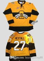 New Arrival. Brandon Wheat Kings 27 ron hextall Hockey Jersey Custom Plain  Embroidery Stitched Customize any number and ... 9dac9990a