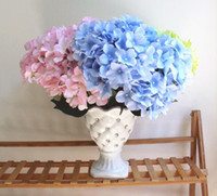 2019 Hot sale Silk flower 7 heads Hydrangea flowers Bouquet ...